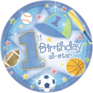 First Birthday All-Star